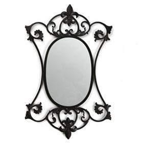 Fleur-de-Lis Venetian Wall Mirror