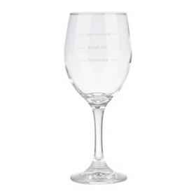 Unwined Wine Glass