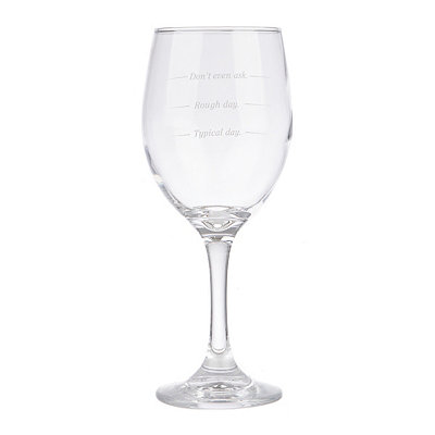 Unwined Wine Glass