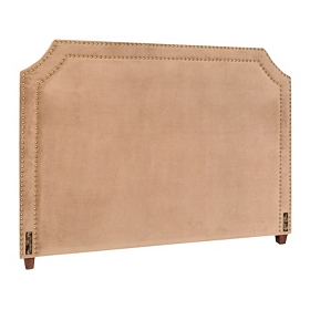 Serena Khaki King Headboard