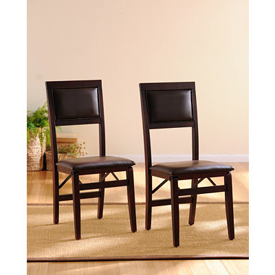 Folding Dining Chair, Set of 2