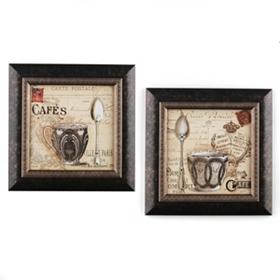 Coffee in Paris Café Framed Art Prints