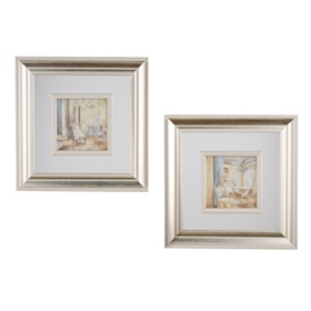 Bath and Boudoir Framed Art
