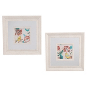 Yellow Bird Framed Art Prints