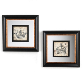 Royal Crown Framed Art Prints