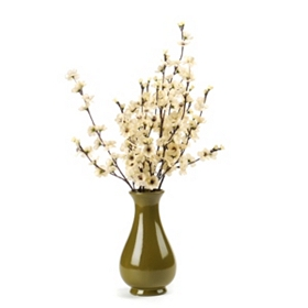 White Cherry Blossom Floral Arrangement