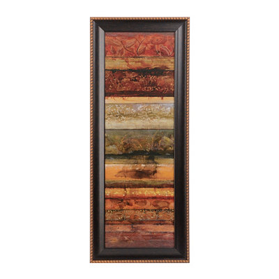 Cardinal Point I Framed Art Print