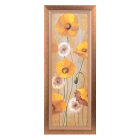 Yellow Spring Poppies I Framed Art Print