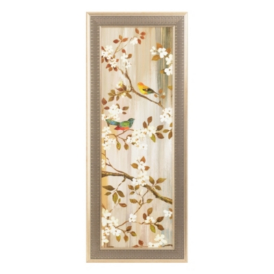 Songbirds & Blooms I Framed Art Print
