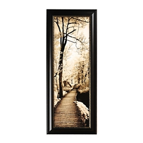 Bronze Pathways I Framed Art Print