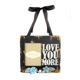 Love You More Hanging Photo Frame, 3x5