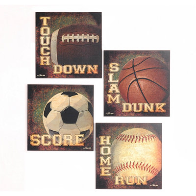 Sports Fan Wall Plaque