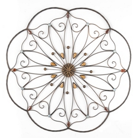 Metal Daisy Wall Art