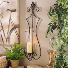 Charleston Scroll Sconce