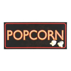 Popcorn LED Canvas Art