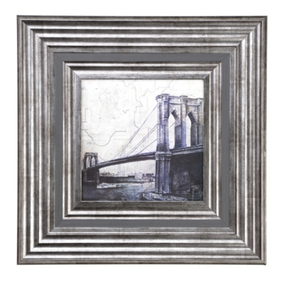 Brooklyn Bridge Framed Art Sketch