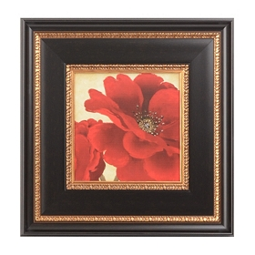 Jacobean Poppies I Framed Art Print