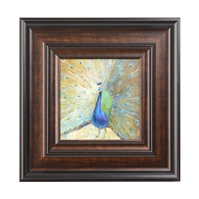 Peacock Beauty I Framed Art Print