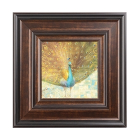 Peacock Beauty II Framed Art Print
