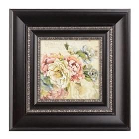 Floral Letters II Framed Art Print