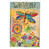 Welcome Family & Friends Canvas Art Print