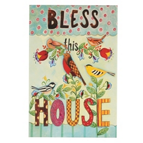 Bless This House Canvas Art Print