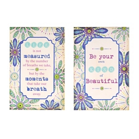 Beautiful Life Words of Wisdom Canvas Art Prints