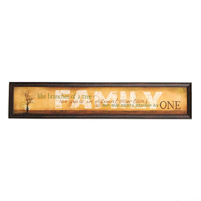 Family Branches Wall Panel