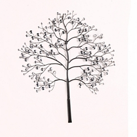 Bronze Ice Tree Wall Plaque