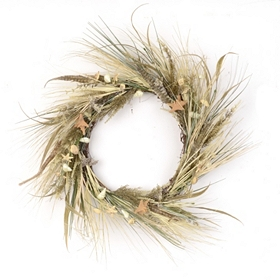 Heather Meadow Wreath, 24 in.