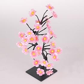 Pre-Lit Silk Cherry Blossom Tree