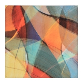 Coalesce Jewel I Canvas Art Print