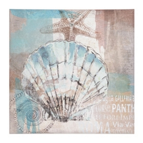 Sea Shore I Canvas Art Print