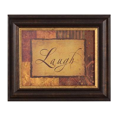 Laugh Vintage Framed Art Print