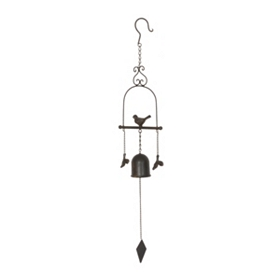 Bird & Bell Wind Chime