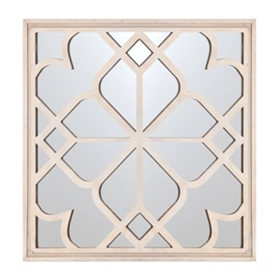 Mirrored Shapes Wall Plaque