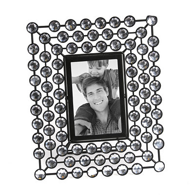 Diamond Bling Picture Frame, 4x6