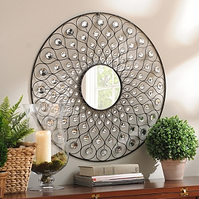 Sunburst Bling Mirror