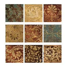 Tapestry Tiles Wall Decal