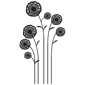 Allium Flowers Wall Decal