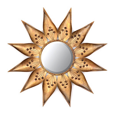 Sundial Starburst Mirror, 36 in.