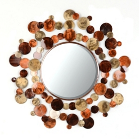 Blended Orbits Mirror, 36 in.