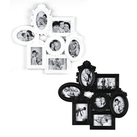 Black & White Venetian Collage Frame