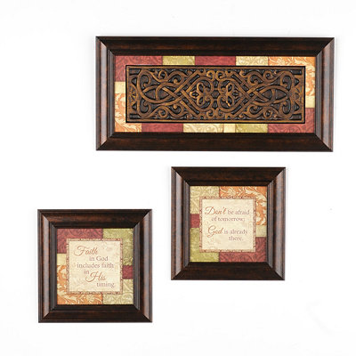 Faith In God Shadowbox, Set of 3