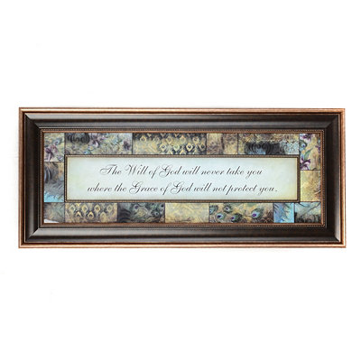 The Will of God Framed Art