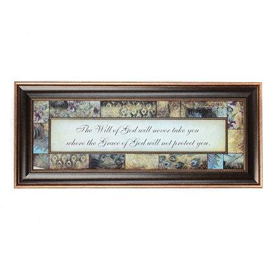 The Will of God Framed Art