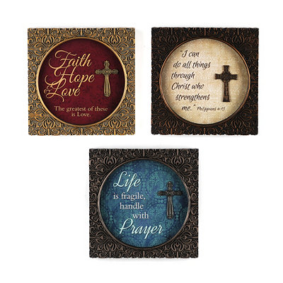 Handle with Prayer Shadowbox