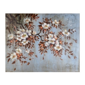 Springtime Drama Canvas Art Print
