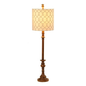 Trellis Bronze Buffet Lamp
