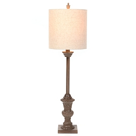 Bronze Royal Buffet Lamp
